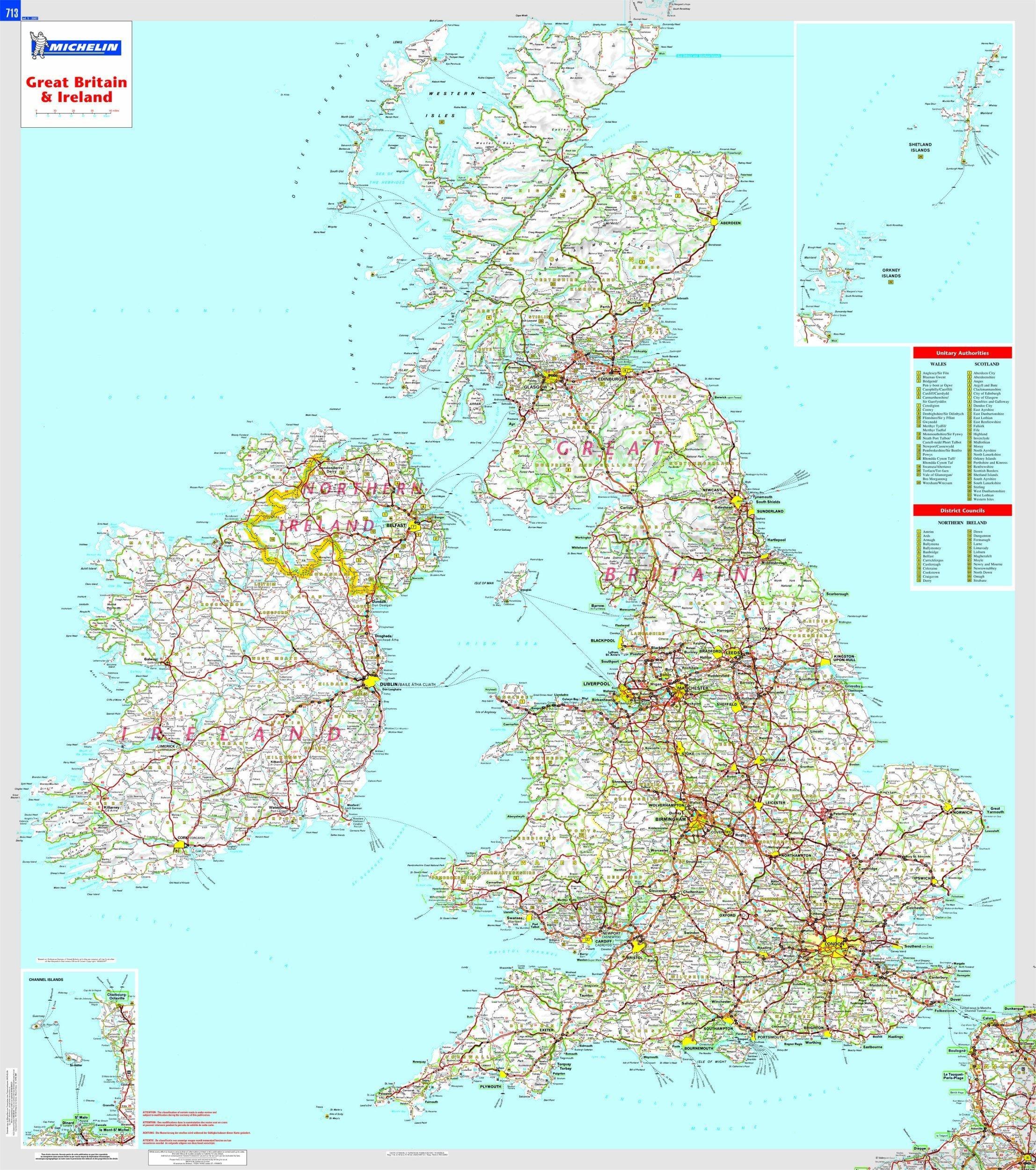 bretana mapa carreteras
